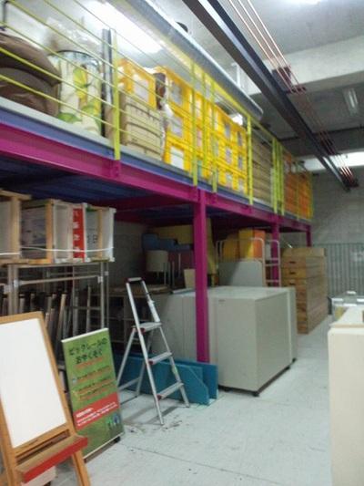 ワンダーミュージアム内倉庫4