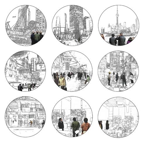 「疾走する上海」