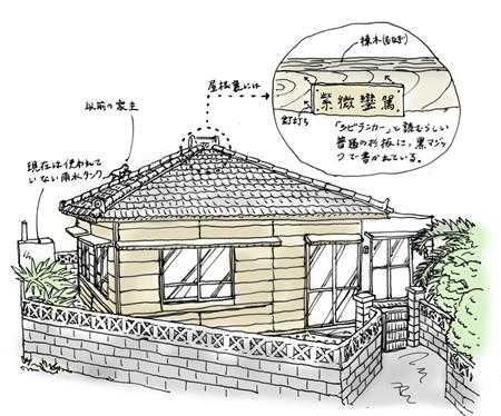 「紫微鑾駕のある家」