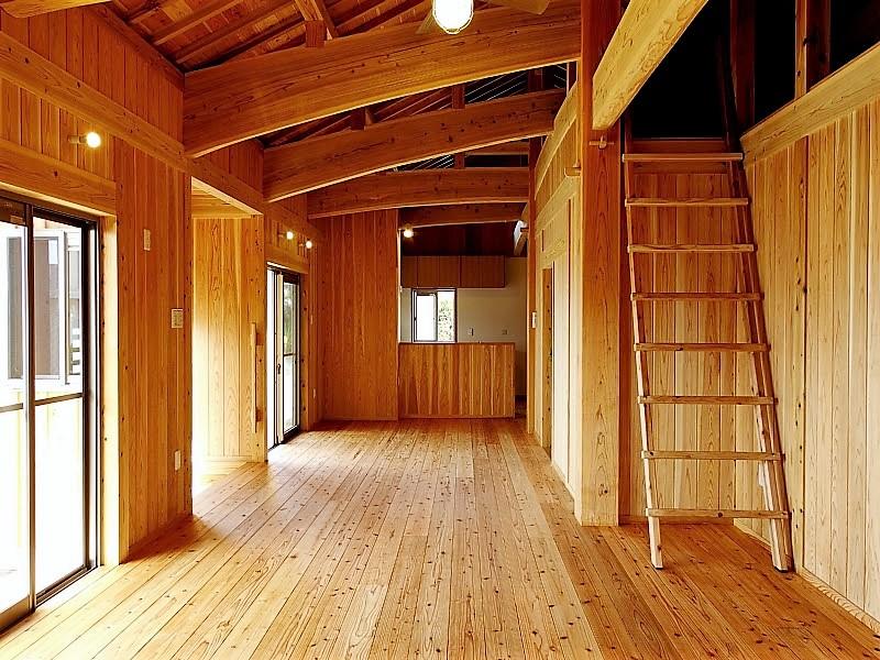 うるま市 木造赤瓦貫屋2