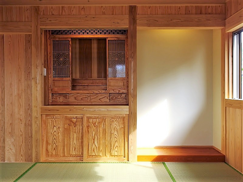 うるま市 木造赤瓦貫屋5