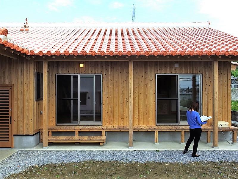 うるま市 木造赤瓦貫屋